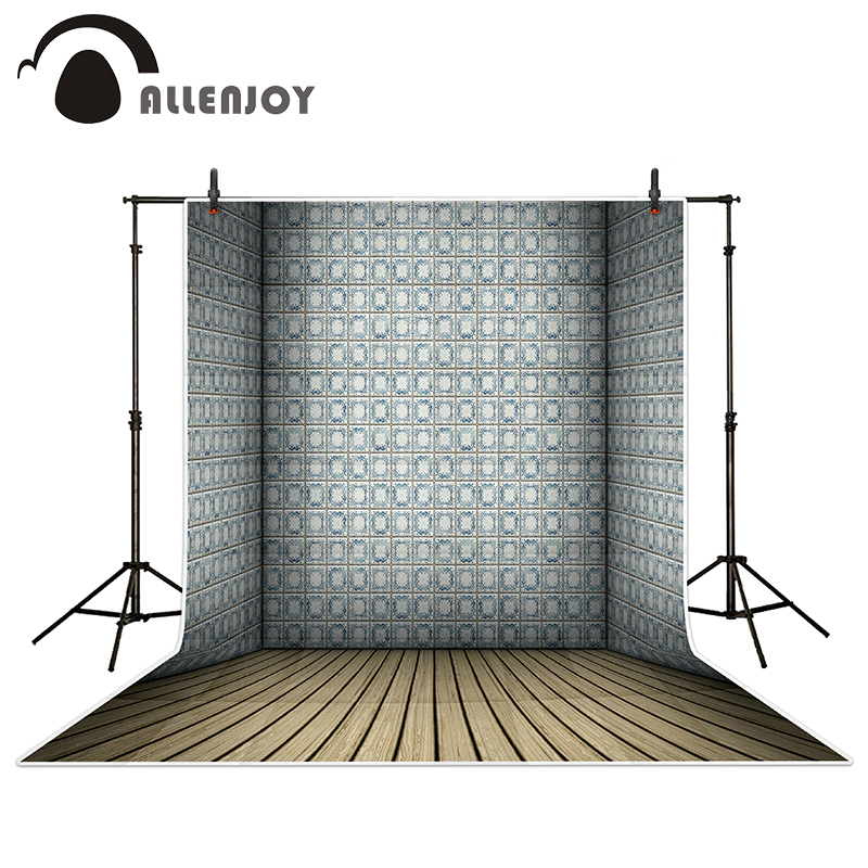 Allenjoy photography backdrops Gray room wallpaper wood brick wall backgrounds for photo studio allenjoy photography backdrops white and gray brick wall brick floor backgrounds for photo studio photography studio backgrounds