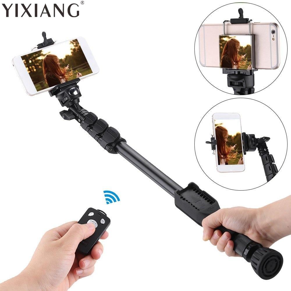 YIXIANG Stativ Selbstporträt Einbeinstativ Telefon YT-388 Selfie - Kamera und Foto