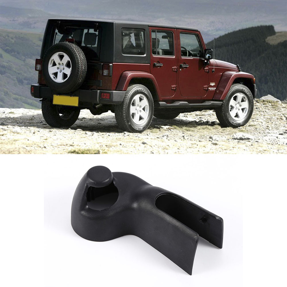 Car Styling Accessories Repair Part For Jeep Wrangler 2008-2017 Rear Windshield Wiper Arm Nut Cover Cap Plastic