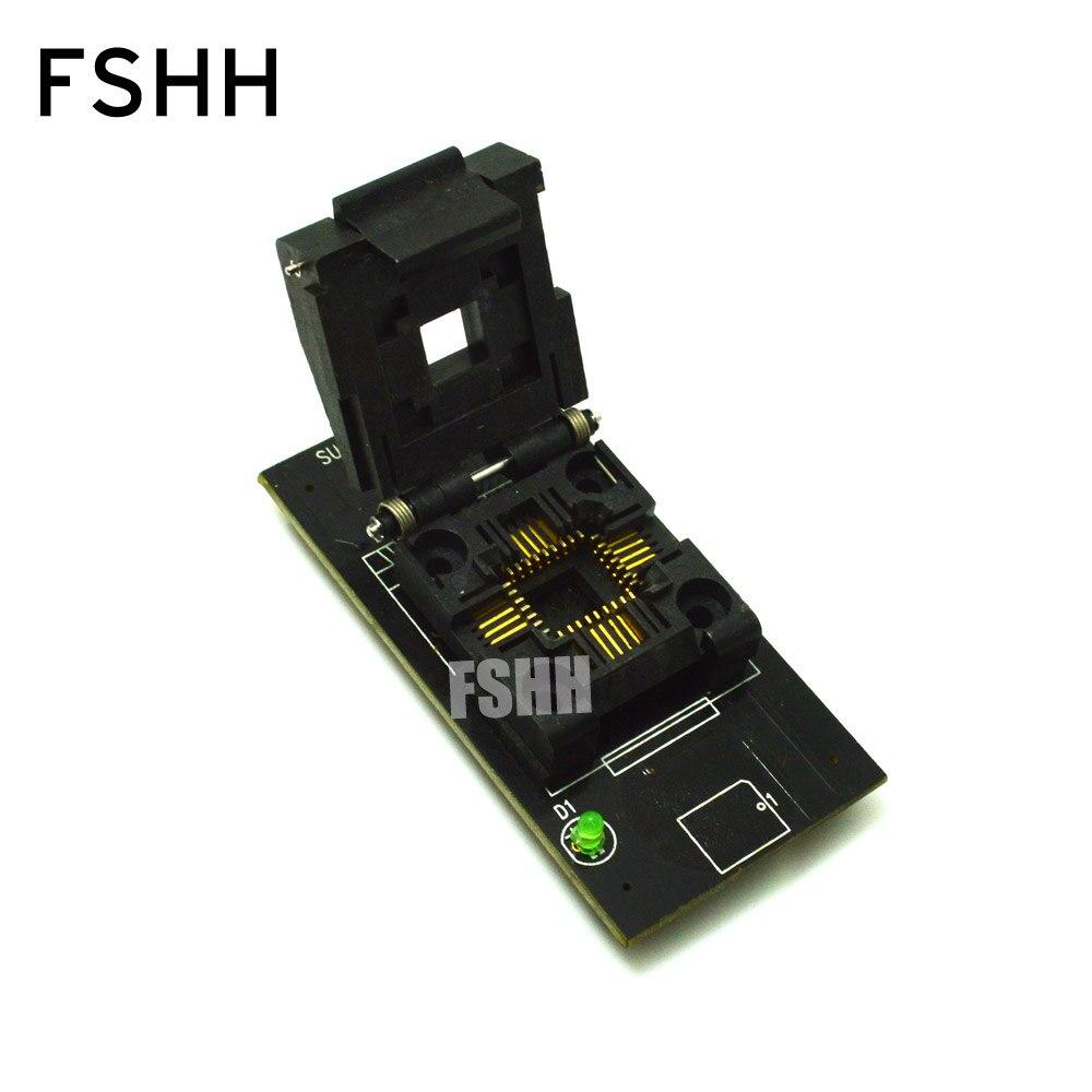 Adaptateur de programmeur de SU-FWH-PLCC32N plcc32 à DIP32 prise de test pour programmeur LP