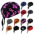 Men Women Pure Cotton Printing Multicolor Pirates Hat Biker Bandana Head Wrap DAJ9069