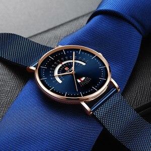 Image 3 - Relogio Masculino BELOHNUNG Mode Männer Uhr Wasserdicht Herren Uhren Top Brand Luxus herren Uhr Komplette Kalender Woche Uhr