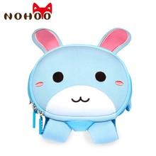 NOHOO дети мультфильм кролик школьные ранцы модная одежда для детей, малышей рюкзак водонепроницаемые школьные сумки обувь мальчиков девочек с