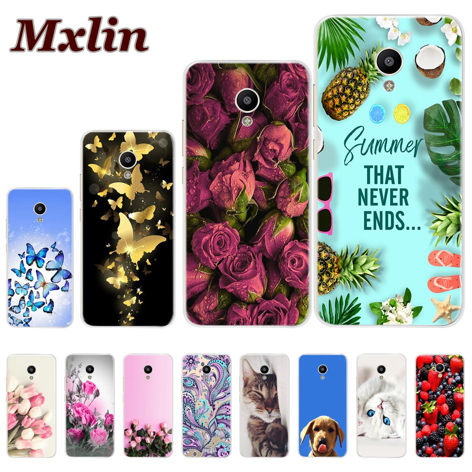 Phone Cases For <font><b>Meizu</b></font> M3 M5 Note Case Silicone Coque Soft TPU <font><b>Back</b></font> <font><b>Cover</b></font> For <font><b>Meizu</b></font> A5 M5C M5 M5S M3 <font><b>M3S</b></font> Mini Cute Painted Bumper image