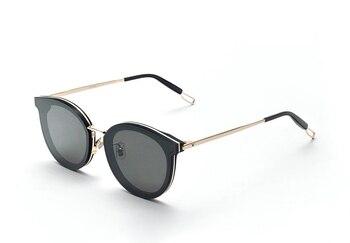 2202b9146c 2018 nueva llegada ronda gafas De sol Retro hombres mujeres suave, diseñador  De marca, gafas De sol Vintage recubrimiento espejo gafas De sol De UV400