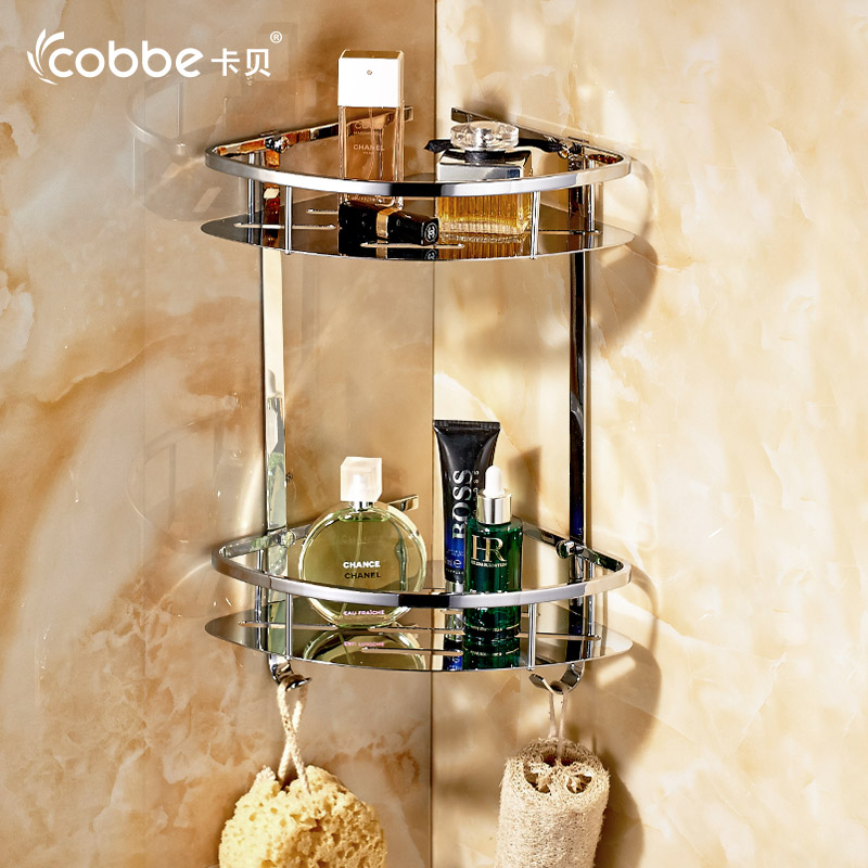 Modern Decoration Stainless Steel Bathroom Shower Caddy Drip Type Bathroom Corner Shelf Organizer Shampoo Storage Cobbe T8274. Shampoo Shower Caddy Promotion Shop for Promotional Shampoo Shower