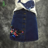 Free Shipping LED Lighting Cloth Cow Boy Dress For Daily Party Club DJ