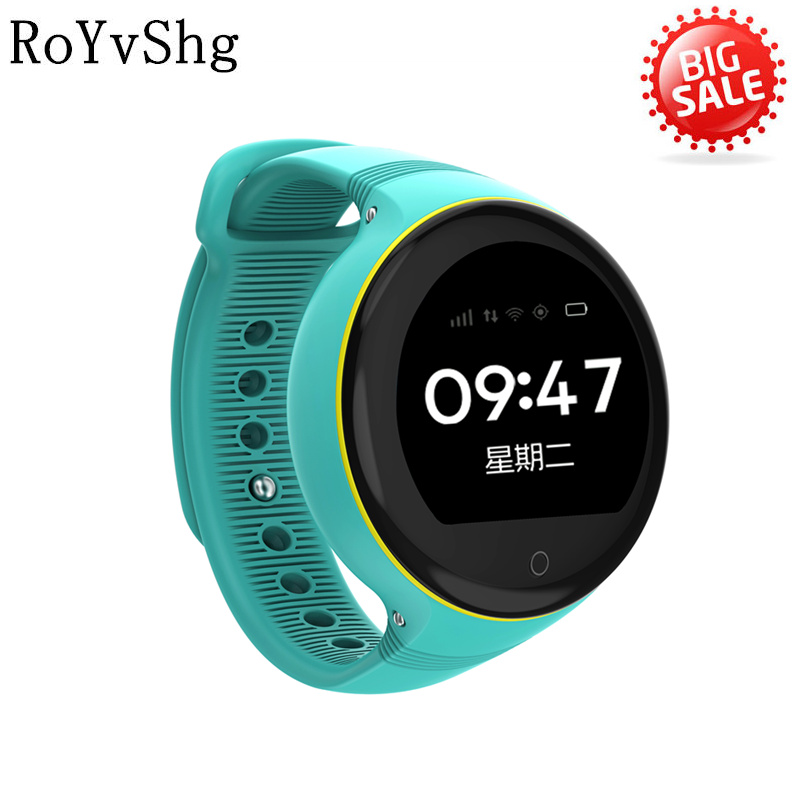 Consumer Electronics S668 Kids Smart Watch Touch Round Screen Agps Lbs Wifi And Camera Positioning G-sensor Gps Smartwatch Sos Remote Pk C88 High Resilience Wearable Devices