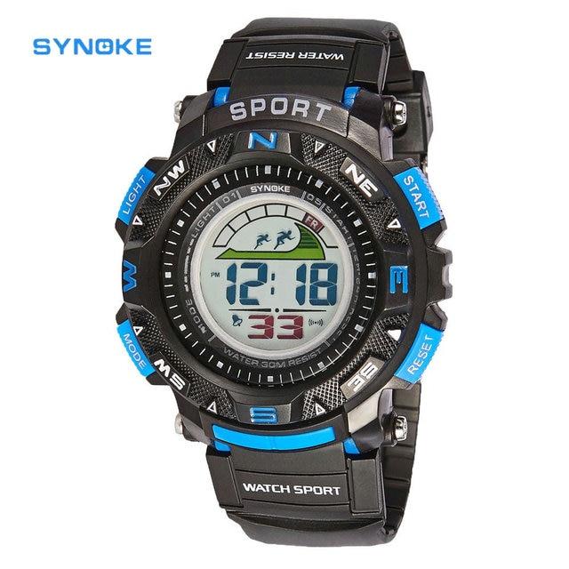 SYNOKE Kids Sports Watch NewLED Digital Watch Boys or Girls 5 Multi-color Rubber