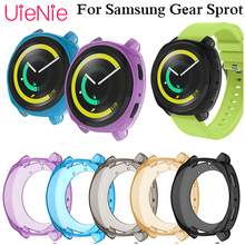 Free delivery Silicone Watch Full Case For Samsung Gear Sport Clear Soft Tpu Protection Cover