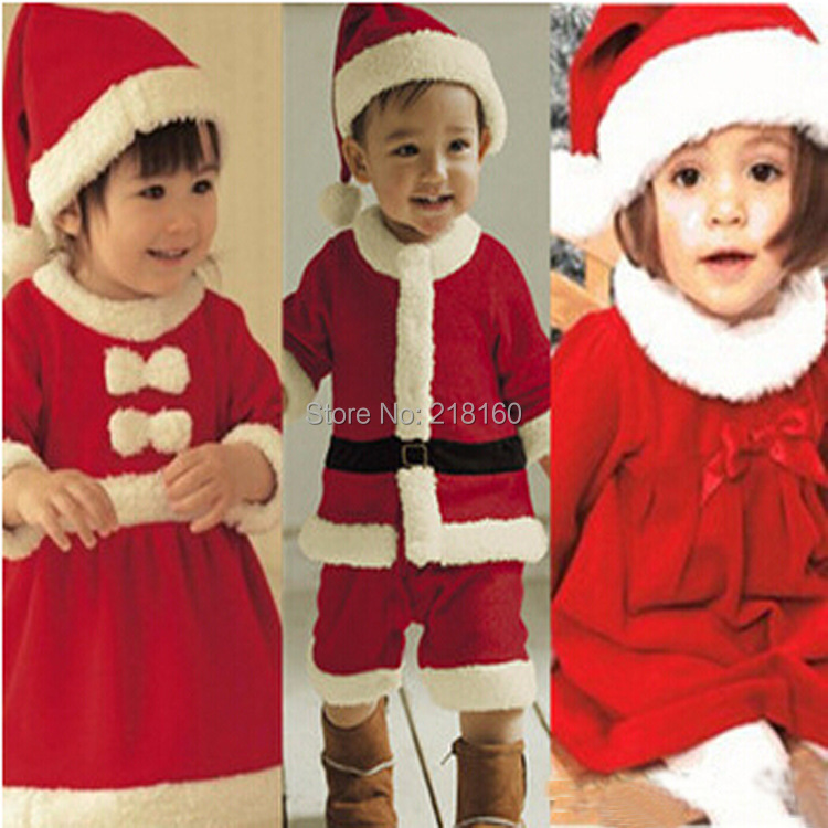 Wholesale High Quality 2 8 Years Baby Santa Suit Boy