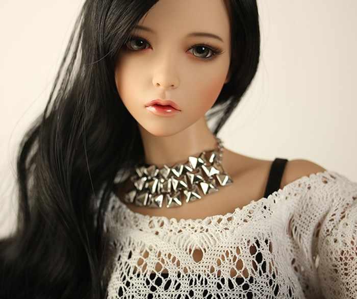 1/3 scale nude BJD Feman SD big girl doll Resin model toy