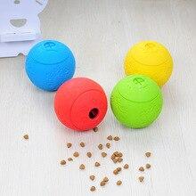 Игрушки для домашних собак, кошек, резиновые игрушки для жевания и кусания, утечки пищи, мячи для щенков, чистки зубов, молярные шарики, игрушки для домашних животных, Обучающие интерактивные материалы