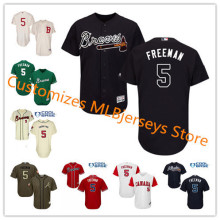 b9b2b2bc687 Men s Atlanta Braves Freddie Freeman Navy