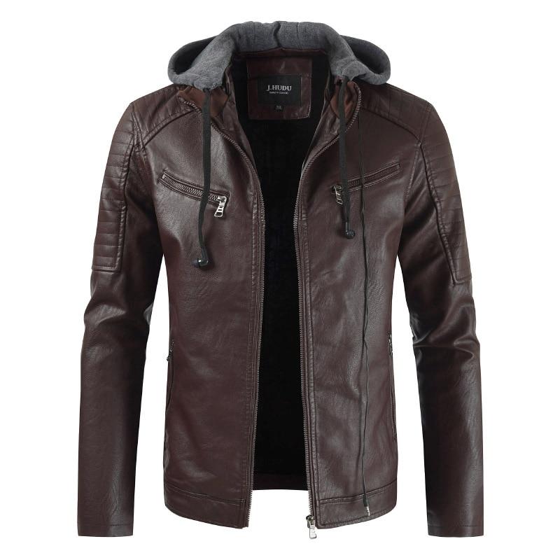 кожаные куртки с капюшоном мужские фото здесь стоит