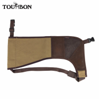 Tourbon Gun Buttstock Recoil Shield Canvas Rifle Shotgun Shoulder Pad Shooting Protection Slip Hunting Gun Accessories