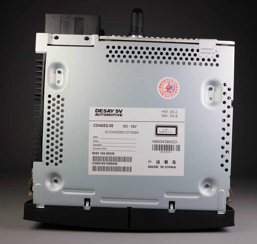 Genuine Original RD43 Autoradio con LETTORE CD USB aux MP3 per Peugeot 207 206 307 308 408 807 Citroen C2 C3 C4 C5 C8