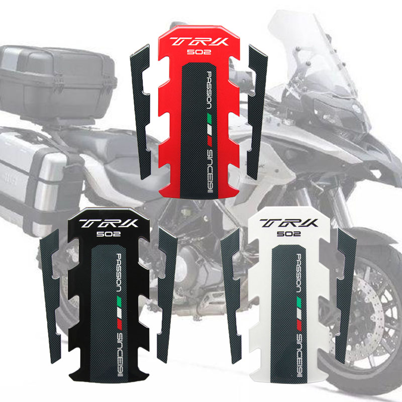 For Bnenlli TRK 502 2017 2018 New  Motorcycle Tank Pad Protector Sticker Fish Bone Sticker Tank Pad Fish Bone Sticker