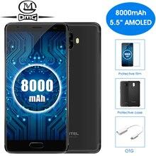 "Oukitel K8000 8000 mAh batterie Handy 5,5 ""MTK6750T Octa-core Android 7.0 4 GB RAM 64 GB ROM 16MP Kameras 4G LTE Smartphone"