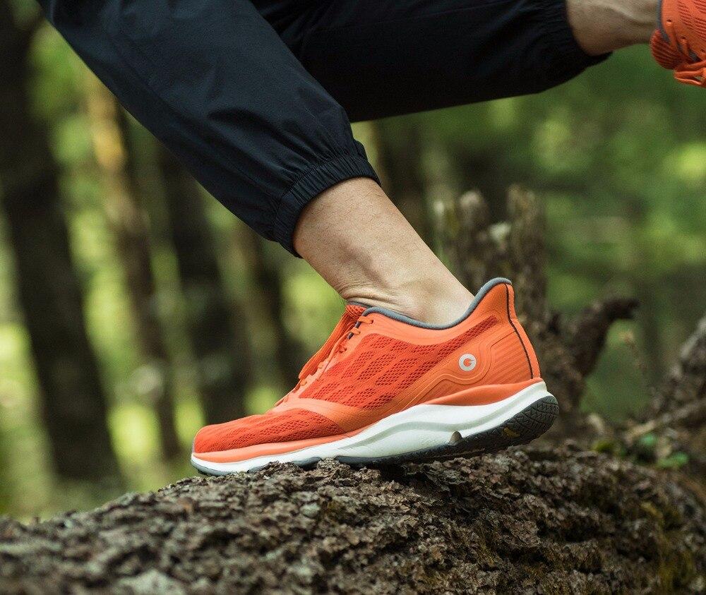 Original Xiaomi Amazfit Antelope luz zapatos inteligentes zapatillas deportivas al aire libre soporte de goma Chip inteligente (no incluido) pk Mijia 2 - 5