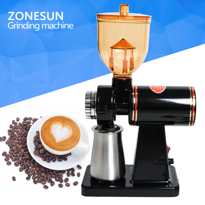 ZONESUN 2017 New arrival household, Electric Coffee Grinder Machine, millling grinder Home Coffee Bean Grinder grinders machine manual coffee machine household grinder mini grinder