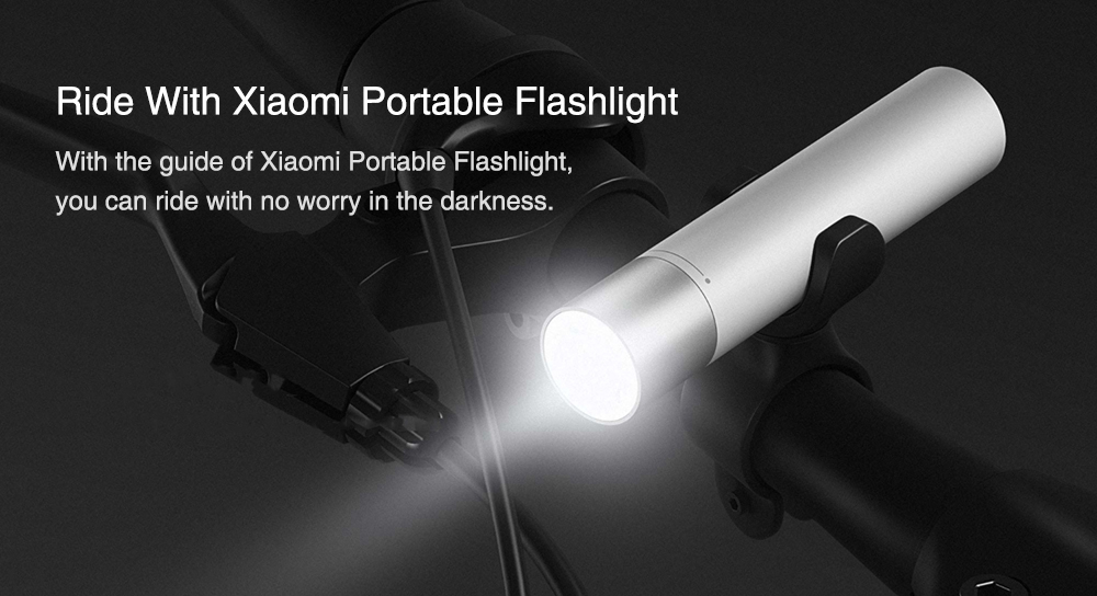 Xiaomi Portable Flash light 11 Adjustable Luminance Modes With Rotatable Lamp Head 3350mAh Lithium Battery USB Charging Port 4