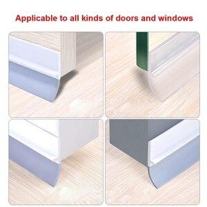 1 Pcs Self Adhesive Seal Strip 1M Silicone Door Window Draught Dustproof Weatherstrip LO88