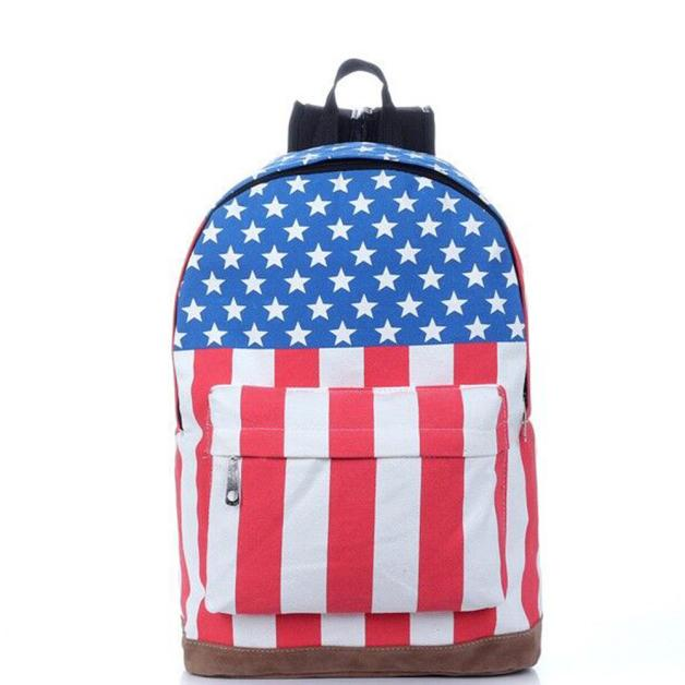 e6b1bbc55030 Aelicy 2019 Fashion Women Flag Union Jack Style Backpack Shoulder School  Bag BackPack Canvas Shoulder Bags Student Bag Notebook