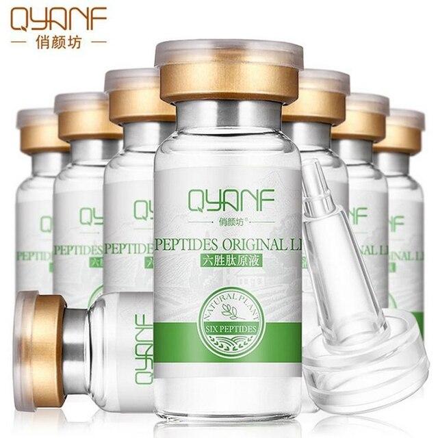Argireline + алоэ вера + коллаген пептиды омоложение Сыворотка против морщин для ухода за кожей лица Colageno анти-старения крем