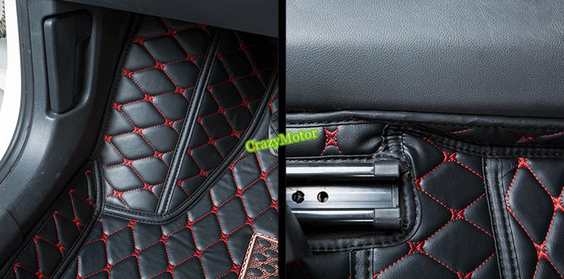 ФОТО Car Floor Mat For Volkswagen Jetta 6 MK6 2012 2013 2014 2015 Car Foot mats Custom carpets accessories rugs Carpet