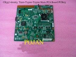 CR357 67051 CR357 60319 do Designjet T920 T1500 główne umowy o partnerstwie i współpracy formatowanie płyta główna płyta główna drukarki części do plotera POJAN sklep w Części drukarki od Komputer i biuro na