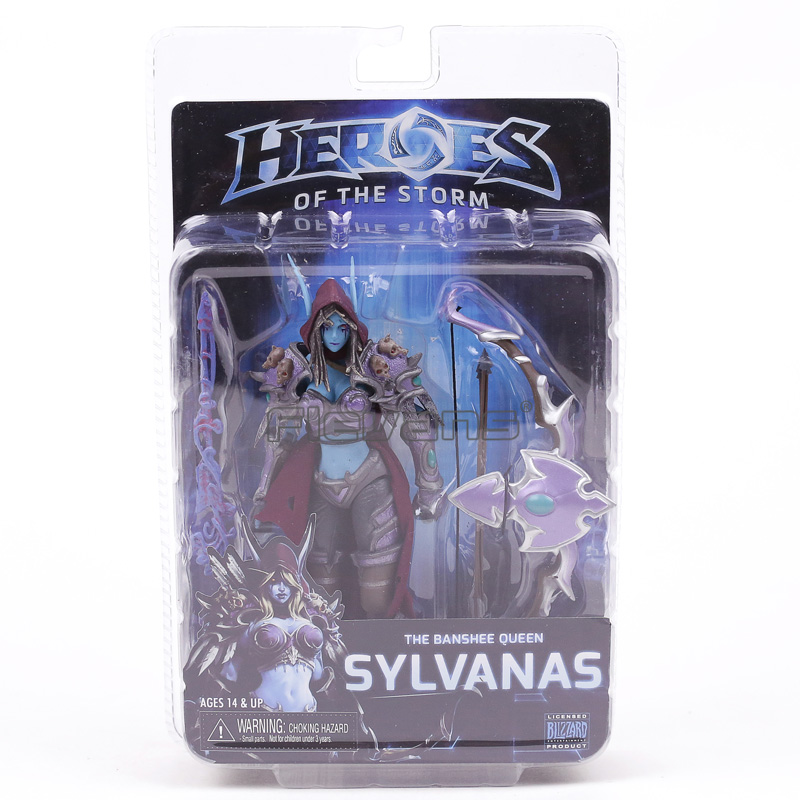NECA Heroes of the Storm Series 3 Sylvanas PVC Action Figure Collectible Model Toy 7 neca heroes of the storm dominion ghost nova pvc action figure collectible model toy 15cm