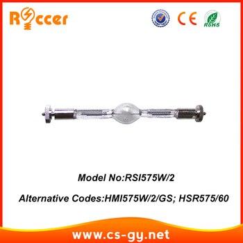ROCCER HMI575 95 V SFc10-4 cabeza móvil luces de Halogenuros Metálicos Lámparas hmi 575/2 HMI 575 2 HSR575/75
