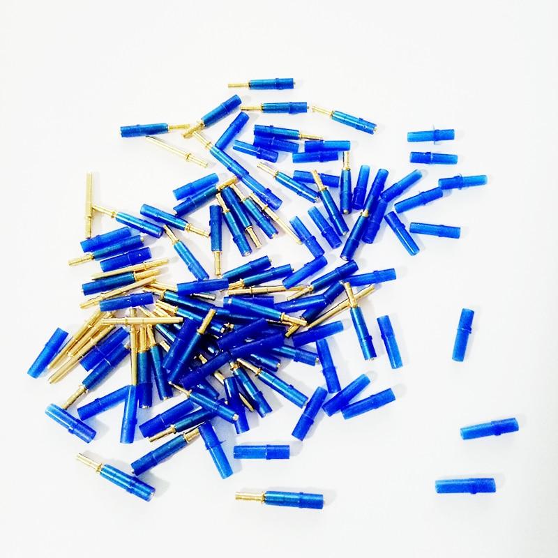 980 Sets Dental Labor Messing Kleine Verbindung Nagel Pin Mit Kunststoff Blau Hülse Auf Stein Modell Arbeit Neue Stil 1,6 18mm Schönheit & Gesundheit