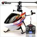 Wltoys V911-2 2.4 Ghz controle remoto 4CH solteiro blades RC helicóptero v911 update versão LCD luz RC helikopter frete grátis