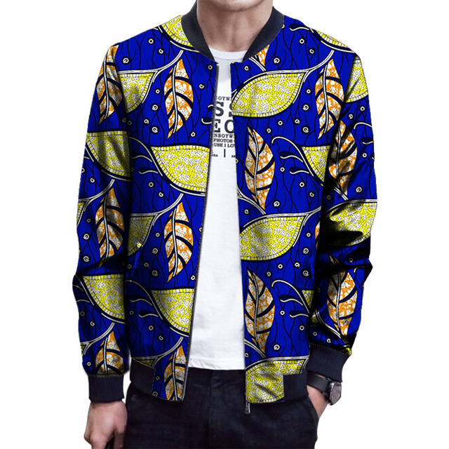 695b7d159b249 Brightly colored african men baseball jacket africa printting stand collar  dashiki coat african clothes customized