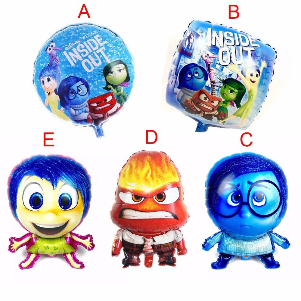Tersyüz folyo balonlar doğum günü Parti Malzemeleri Dekorasyon çocuklar Için oyuncak Helyum balon Ballon Çocuk Doğum Günü Partisi Dekorasyon