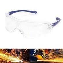 Segurança do trabalho Óculos de Proteção Anti-Respingo à prova de Vento  Óculos À Prova De Poeira Protetor Ocular ddc43aec93