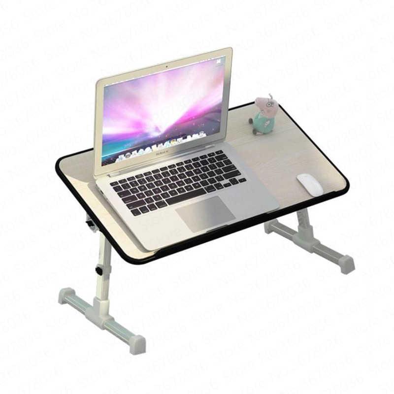 Складной компьютерный стол простой домашний маленький для Спальни Ленивый
