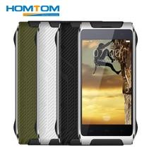 HOMTOM Mobile Phones HT20 IP68 Waterproof MT6737 Quad Core 16G ROM 2G RAM Smartphone Fingerprint Shockproof 4.7 Inch Cellphone