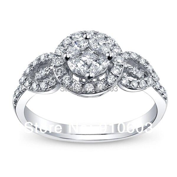 luxury 2 carat ascd lab grown diamond halo wedding ring capture the magic and adventure of - 2 Carat Wedding Ring