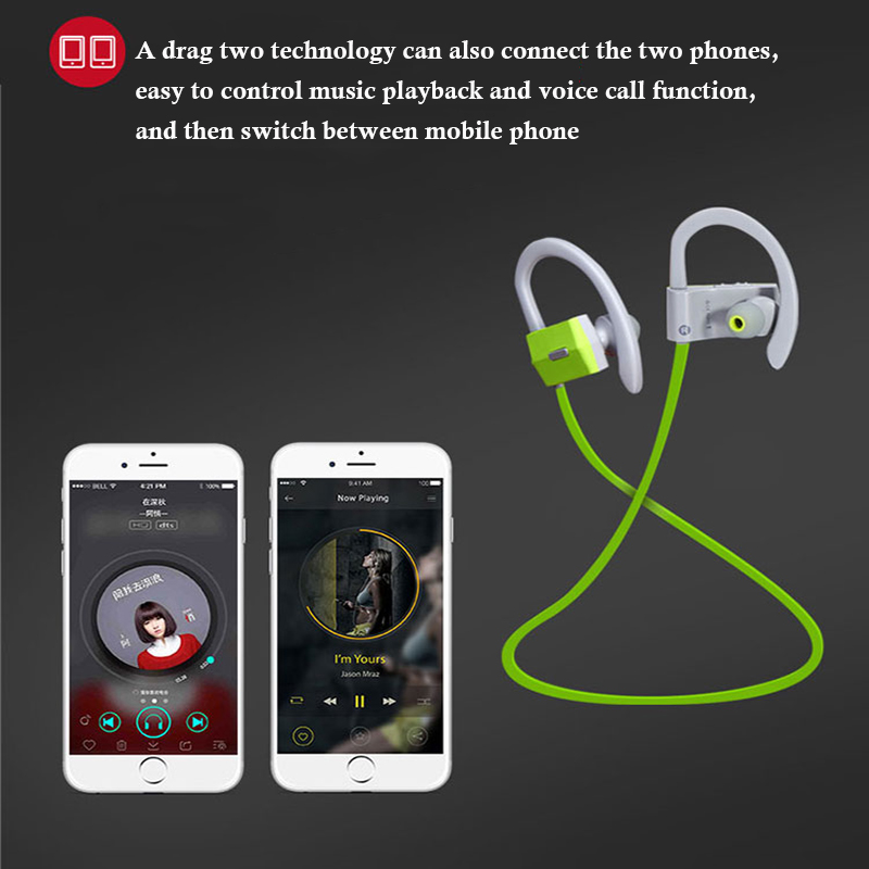 US $25 5  Showkoo Noise reduction High quality headphones bluetooth  earphone for ONEPLUS 6 Samsung Galaxy S8 S9 Note 8 Waterproof headset-in  Bluetooth