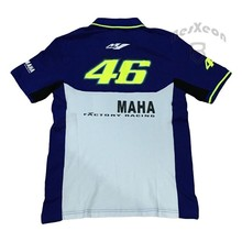 KODASKIN Free Shipping 100% Cotton MOTOGP Team VR46 Polo Shirts Summer luna rossi 46 Motorcycle Casual Polo shirt