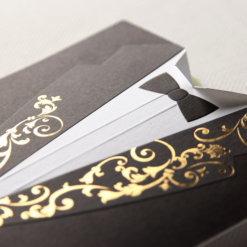 100 piece paper wedding invitations bride groom blank marriage