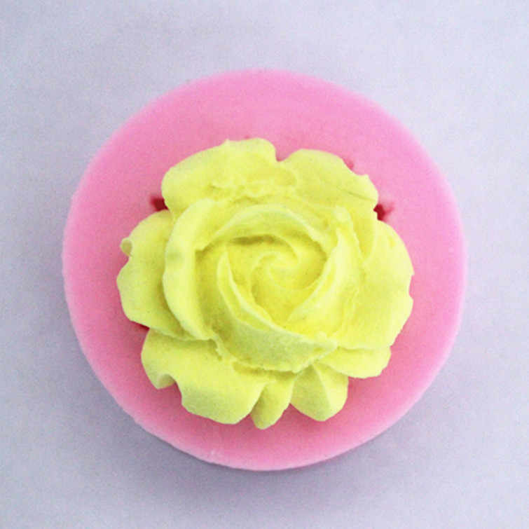 Rose Geformt Silikon Cookie Biskuitform