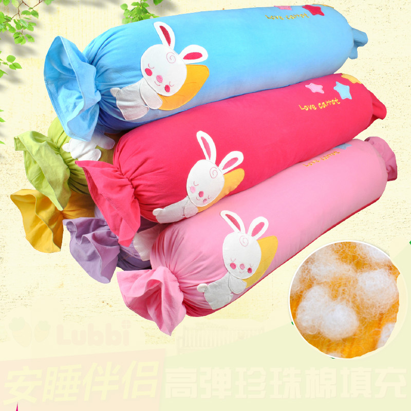 Free shipping luxury comfortable bed sofa cushion pillow cartoon candy shape pillow baby pillow T01 chic quality flamingo and lotus pattern flax pillow case(without pillow inner)