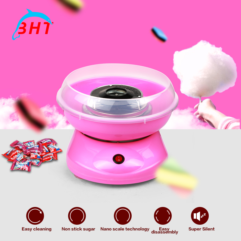 2016 mini portable electric diy sweet cotton candy maker cotton candy sugar machine for children girl