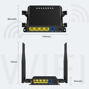 Image 5 - Router Wi Fi Cane Da Guardia Con 4 Esterno 5dBi Antenne 3G 4G LTE SIM Card Wifi openWRT Commercio Allingrosso Della Fabbrica WE826 WD