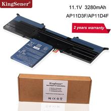 лучшая цена 11.1V 3280mAh Original Genuine New Battery AP11D3F For Acer Aspire S3 S3-951 S3-391 Ultrabook 13.3