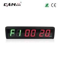 [Ganxin] 2,3 ''электронный тренажерный зал цифровой таймер настенные часы светодиодный Табата часы для кроссфита morden Тренажерное Оборудование